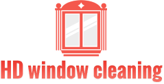 HD window cleaning, logo